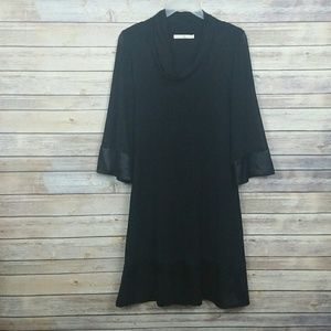 Anthropologie Weston Wear Mesh Cowl Dress Sz M